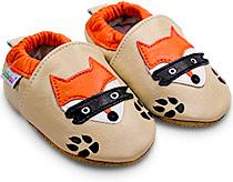 bas prix 544ee d2d0e Les chaussons bébé en cuir souple pour filles et garçons