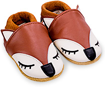énorme réduction 6e2b4 23361 Chaussons bébés et enfants en cuir souple - garçon et fille